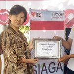 Aksi Siaga Sehat PT Hitachi Asia Indonesia dan Grup Hitachi di Indonesia