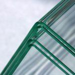 Lengkungan Sudut Kaca Sangat Sempit dan Indah, Teknologi Memudahkan Pekerjaan